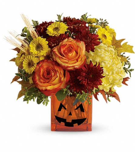 Teleflora's Halloween Glow in Naples FL, Gene's 5th Ave Florist