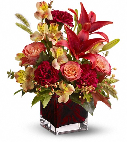 Teleflora's Indian Summer in Buffalo NY, Flowers By Johnny