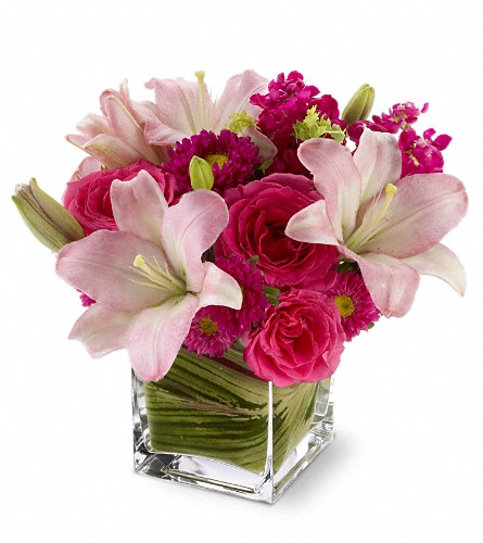 Teleflora's Posh Pinks in Bend OR, All Occasion Flowers & Gifts