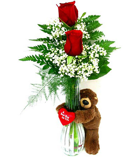 VF7 ''Roses Are Red'' in Oklahoma City OK, Array of Flowers & Gifts