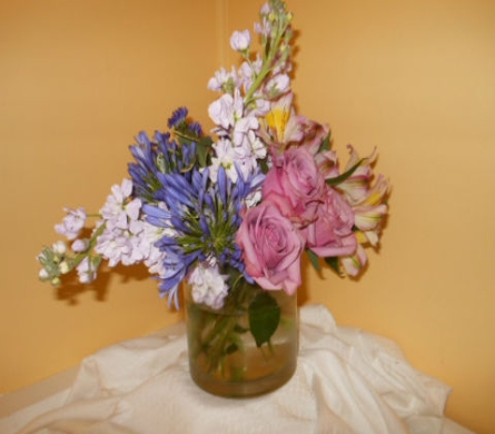 Fresh Floral Arrangement in Amelia OH, Amelia Florist Wine & Gift Shop