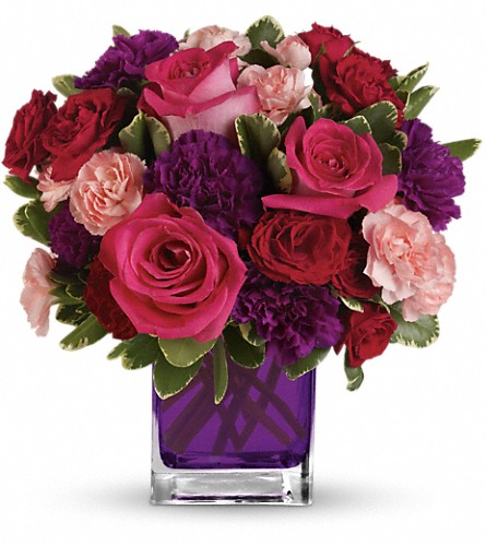 Bejeweled Beauty by Teleflora in Jersey City NJ, Entenmann's Florist