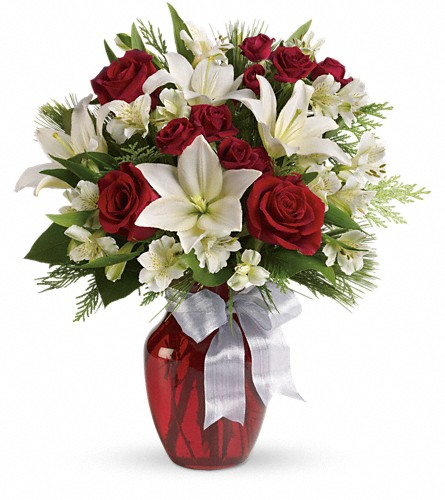 Joyful Season Bouquet in Oklahoma City OK, Array of Flowers & Gifts