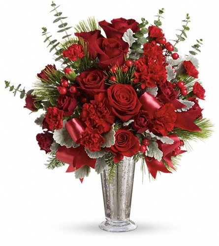 Teleflora's Holiday Touches Bouquet in Bothell WA, The Bothell Florist