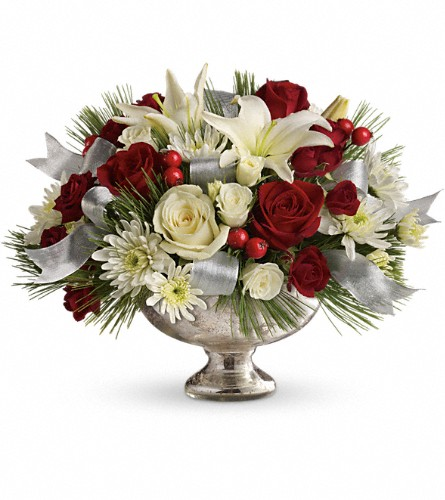 Teleflora's Season's Finest Centerpiece in Bothell WA, The Bothell Florist