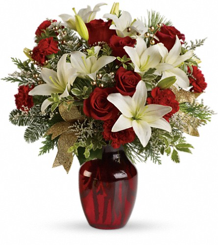 Winter Riches Bouquet in Bakersfield CA, White Oaks Florist