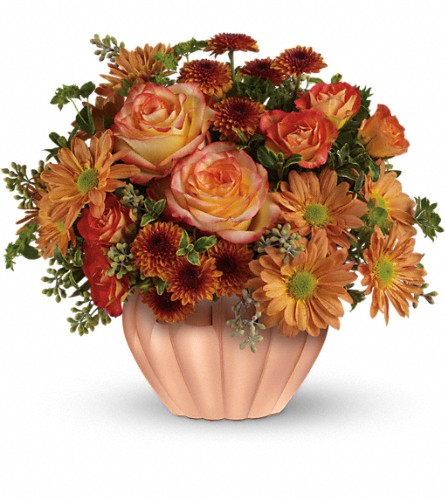 Teleflora's Joyful Hearth Bouquet in Liverpool NY, Creative Florist