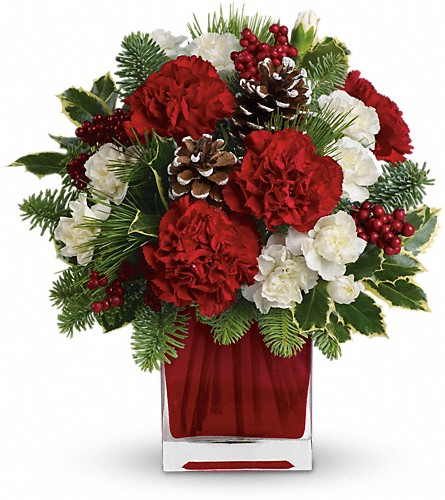 Make Merry by Teleflora in Moose Jaw SK, Evans Florist Ltd.