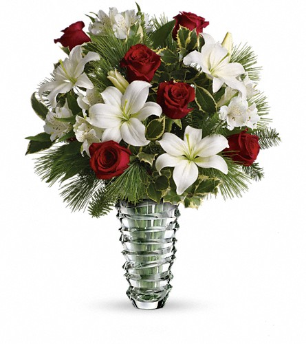 Teleflora's Glorious Noel Bouquet in Oklahoma City OK, Array of Flowers & Gifts