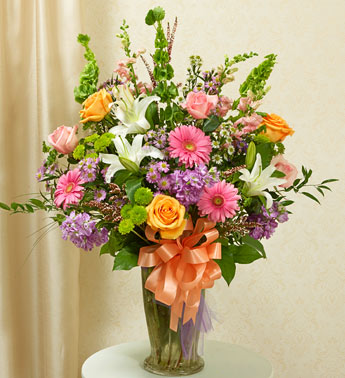 1 800 Flowers-Pastel Bright and Beautiful Blessing in Woodbridge VA, Lake Ridge Florist
