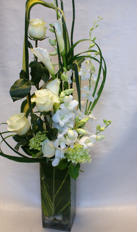 Just White 4 in Victoria BC, Fine Floral Designs