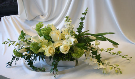 Just White 10 in Victoria BC, Fine Floral Designs