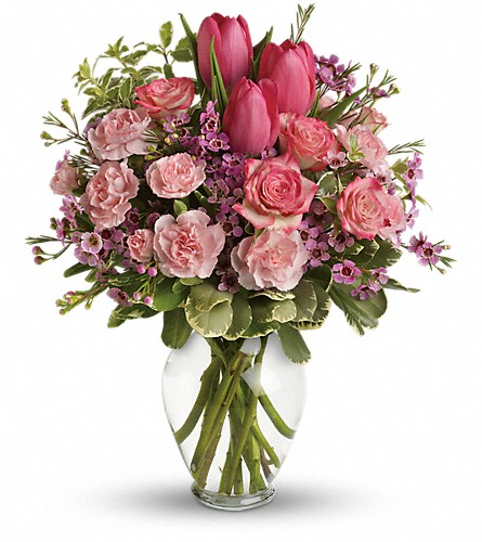 Full Of Love Bouquet in Jamesburg NJ, Sweet William & Thyme