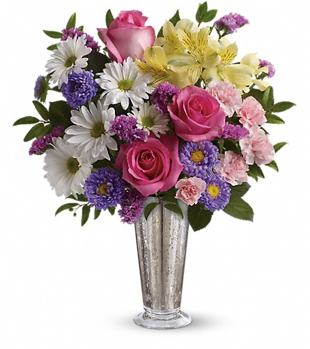 Smile And Shine Bouquet by Teleflora in Opelousas LA, Wanda's Florist & Gifts