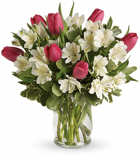 Spring Romance Bouquet in Woodbridge VA, Lake Ridge Florist
