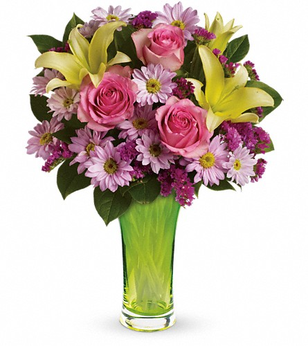 Teleflora's Bring On Spring Bouquet in Ajax ON, Reed's Florist Ltd