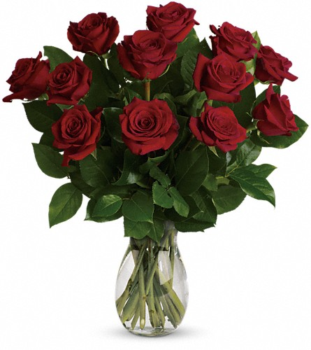 My True Love Bouquet with Long Stemmed Roses in Fredonia NY, Fresh & Fancy Flowers & Gifts