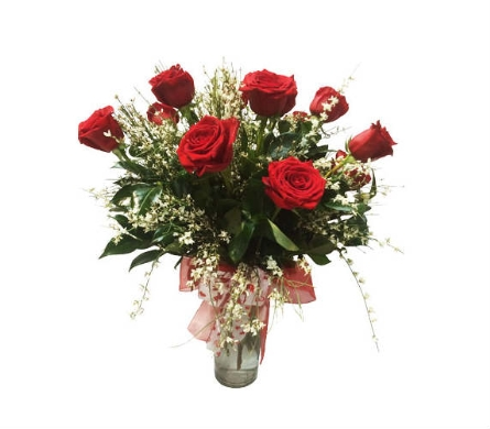 Deluxe Dozen Roses in Oklahoma City OK, New Leaf Floral Inc
