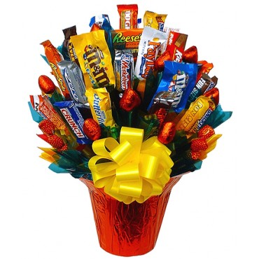 candy bar bouquet in knoxville tn the flower pot