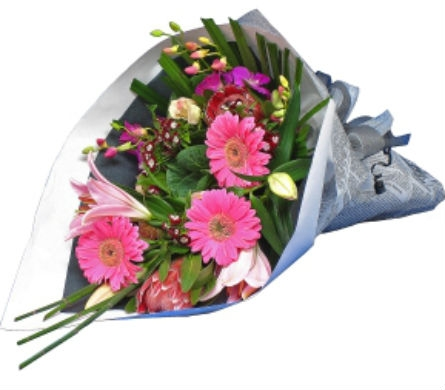 Bouquet of the Month - Wrapped in Traverse City MI, Teboe Florist