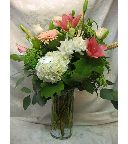 Mixed arrangement in Lake Forest CA, Cheers Floral Creations