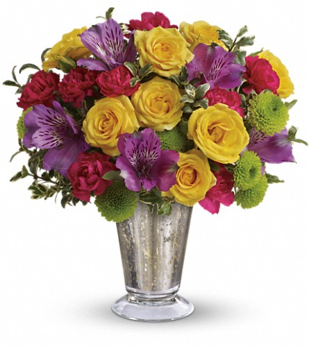 Teleflora's Fancy That Bouquet in Worcester MA, Herbert Berg Florist, Inc.