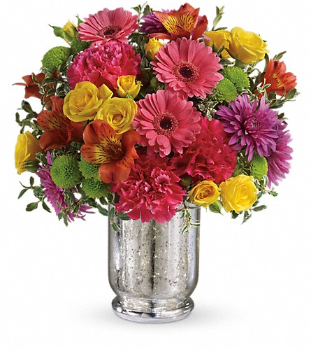 Teleflora's Pleased As Punch Bouquet in Bedford NY, Perennial Gardens, Inc