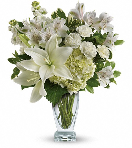 Teleflora's Purest Love Bouquet in North Syracuse NY, The Curious Rose Floral Designs