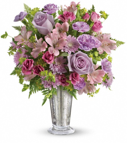 Teleflora's Sheer Delight Bouquet in Rochester NY, Red Rose Florist & Gift Shop