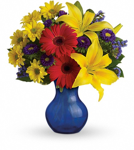 Teleflora's Summer Daydream Bouquet in usa-send-flowers NJ, Stanley's America's Florist & Gifts