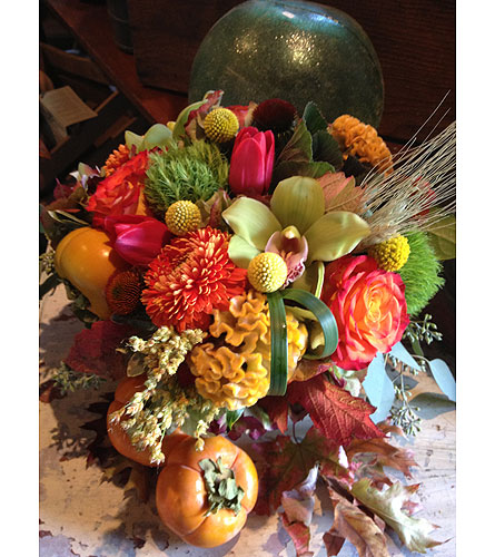 Autumn all year in Napa CA, Beau Fleurs Napa Valley Flowers