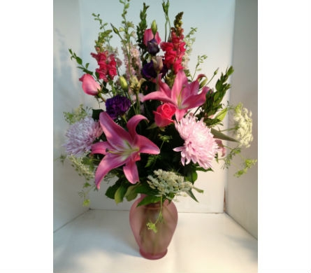 For Her Vase in Wellington FL, Wellington Florist