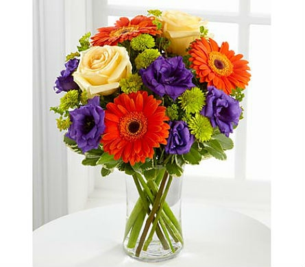 The FTD® Rays of Soloace™ Bouquet in San Clemente CA, Beach City Florist