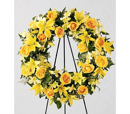 The FTD® Ring of Friendship™ Wreath in San Clemente CA, Beach City Florist