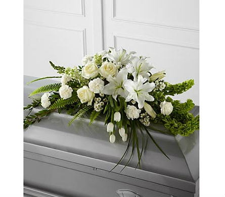 The FTD® Resurrection™ Casket Spray in San Clemente CA, Beach City Florist