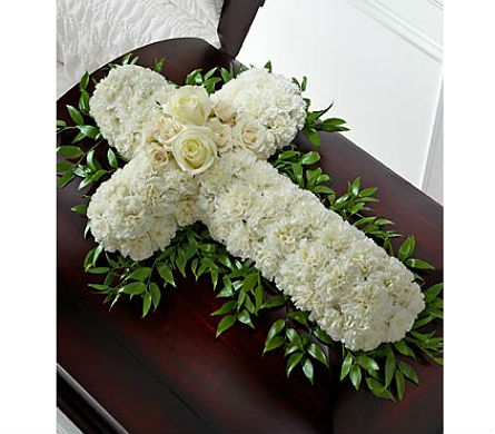 The FTD® Peaceful Memories™ Casket Spray in San Clemente CA, Beach City Florist
