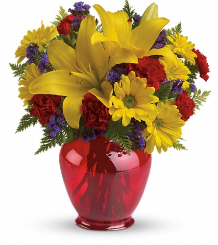 Teleflora's Let's Celebrate Bouquet in Renton WA, Cugini Florists