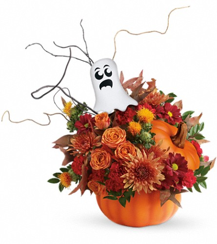 Teleflora's Spooky Surprise Bouquet in Drayton ON, Blooming Dale's