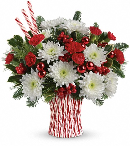 Teleflora's Sweet Holiday Wishes Bouquet in Ft. Lauderdale FL, Jim Threlkel Florist