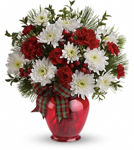 Teleflora's Joyful Gesture Bouquet in Olean NY, Mandy's Flowers