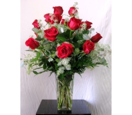Dozen Premium Long-Stem Red Roses  in San Diego CA, The Floral Gallery