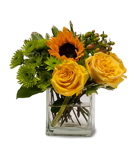 Sunny Limeade in Spartanburg SC, A-Arrangement Florist