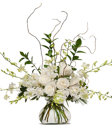White Elegance in Westminster CA, Dave's Flowers