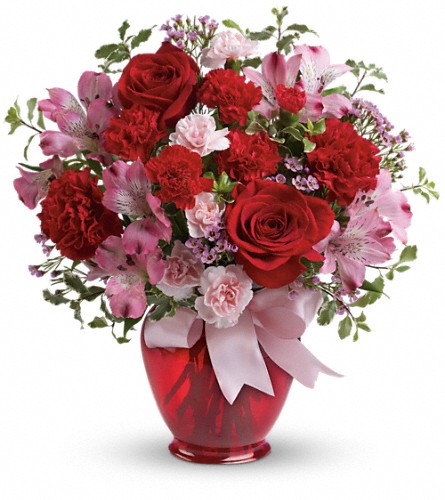 Teleflora's Blissfully Yours Bouquet in Jacksonville FL, Deerwood Florist