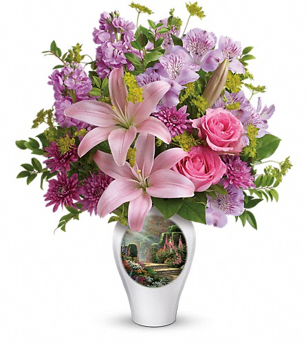 Thomas Kinkade's Glorious Goodness by Teleflora in Royersford PA, Three Peas In A Pod Florist