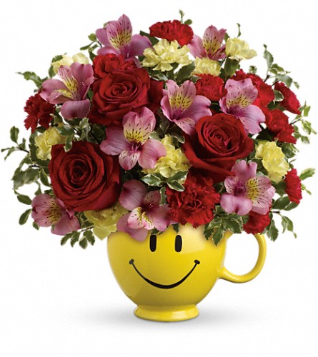 So Happy You're Mine Bouquet by Teleflora in Chapel Hill NC, Floral Expressions and Gifts