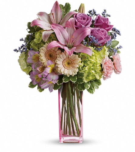 Teleflora's Artfully Yours Bouquet in Kelowna BC, Burnetts Florist & Gifts