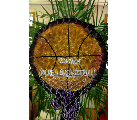 Basketball & Hoop in Freehold NJ, Especially For You Florist & Gift Shop