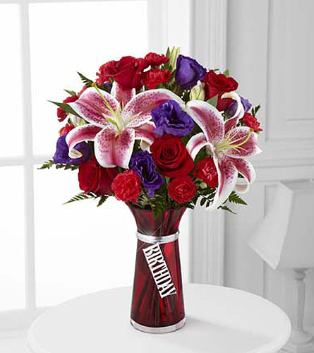 FTD - Birthday Wishes Bouquet in Fond Du Lac WI, Haentze Floral Co