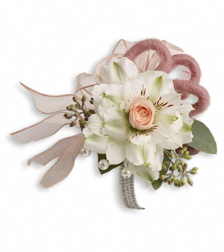 Call Me Darling Corsage in Warwick RI, Yard Works Floral, Gift & Garden